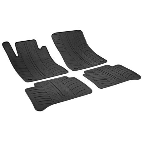 Gummi-Fußmatten für Mercedes E-Klasse ab 2002 (W211/S211)