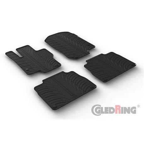 Gummi-Fußmatten für Mercedes GLE V167 ab 2/2019