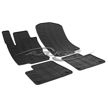 Gummi-Fußmatten für Mercedes M-Klasse W166 ab 11/2011/GLE/GLE Coupé ab 2015