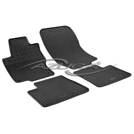 Gummi-Fußmatten für Mercedes M-Klasse W164 ab 2005