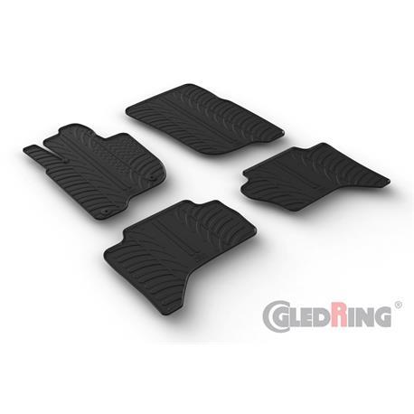 Gummi-Fußmatten für Mitsubishi L200 ab 9/2015