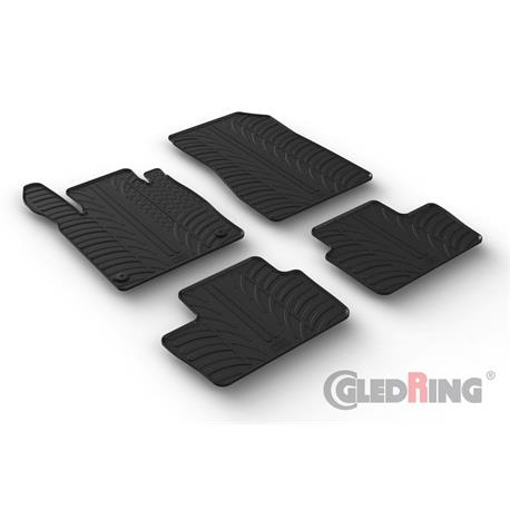Gummi-Fußmatten für Nissan Juke ab 12/2019