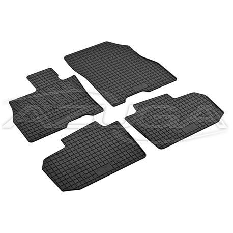 Gummi-Fußmatten für Nissan Leaf ab 2010-2017