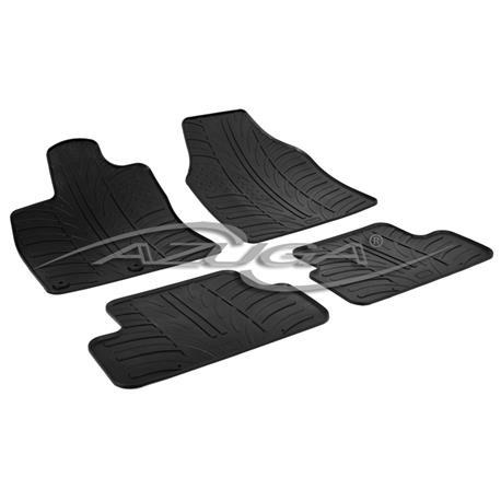 Gummi-Fußmatten für Nissan Qashqai ab 2007-1/2014