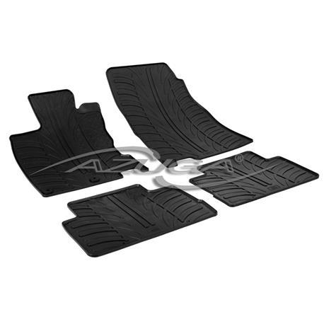 Gummi-Fußmatten für Nissan Qashqai ab 2/2014