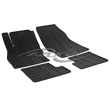 Gummi-Fußmatten für Opel Adam ab 2013