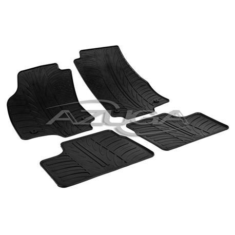 Gummi-Fußmatten für Opel Astra H ab 2004-2010