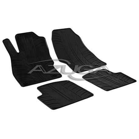 Gummi-Fußmatten für Opel Corsa D ab 10/2006-11/2014