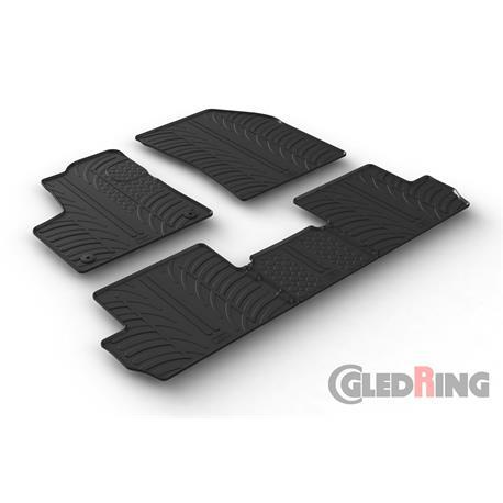 Gummi-Fußmatten für Peugeot 3008 ab 10/2016