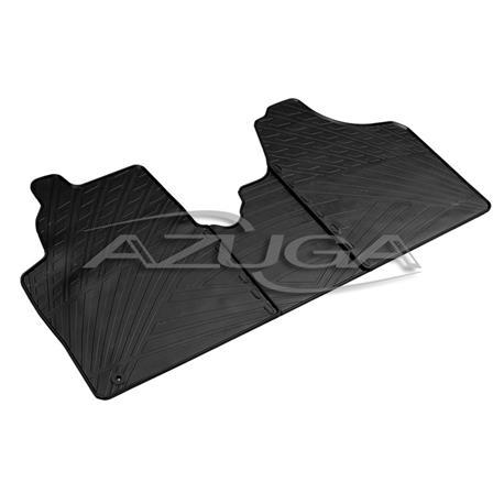 Gummi-Fußmatten für Citroen Jumpy II/Fiat Scudo II/Peugeot Expert II Kastenwagen ab 2007