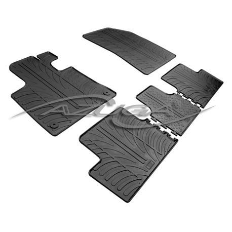 Gummi-Fußmatten für Citroen C4 Picasso II ab 6/2013