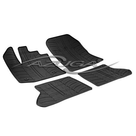 Gummi-Fußmatten für Dacia Dokker ab 2013