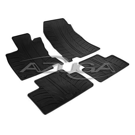 Gummi-Fußmatten für Renault Kadjar ab 2015