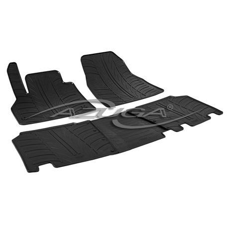 Gummi-Fußmatten für Mercedes Citan ab 2012/Renault Kangoo II ab 2008
