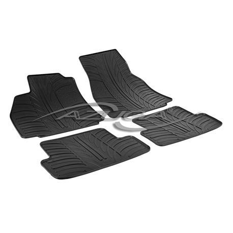Gummi-Fußmatten für Renault Megane II ab 2003