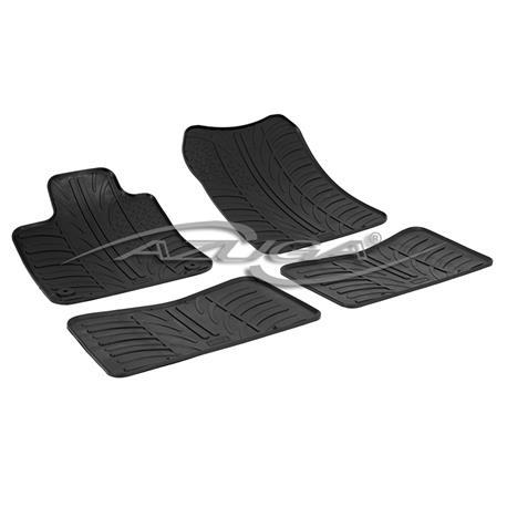 Gummi-Fußmatten für Renault Twingo II ab 2007-8/2014