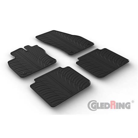 Gummi-Fußmatten für Seat Tarraco ab 2019