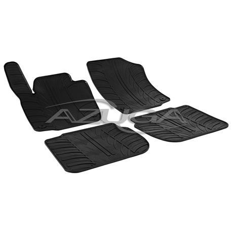 Gummi-Fußmatten für Skoda Rapid ab 2012/Seat Toledo ab 2013