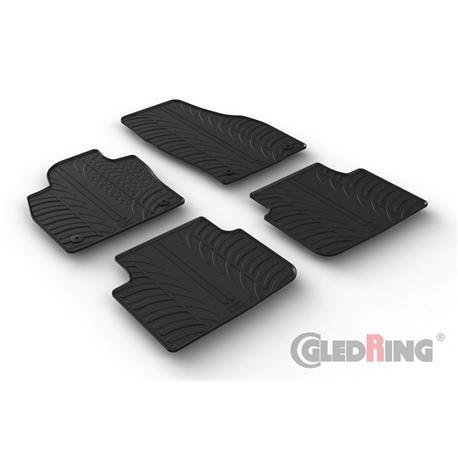 Gummi-Fußmatten für Skoda Scala ab 2019