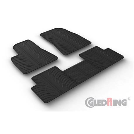 Gummi-Fußmatten für Tesla Model 3 ab 2018