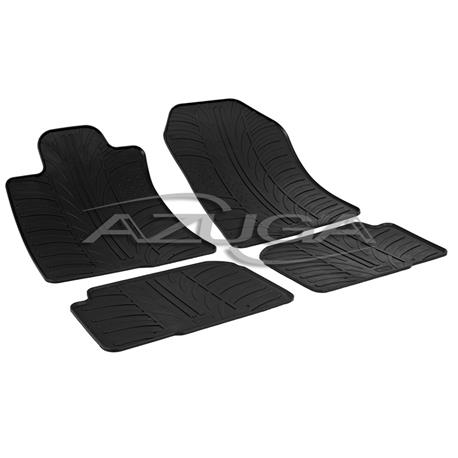 Gummi-Fußmatten für Toyota Corolla Verso ab 2004-4/2009