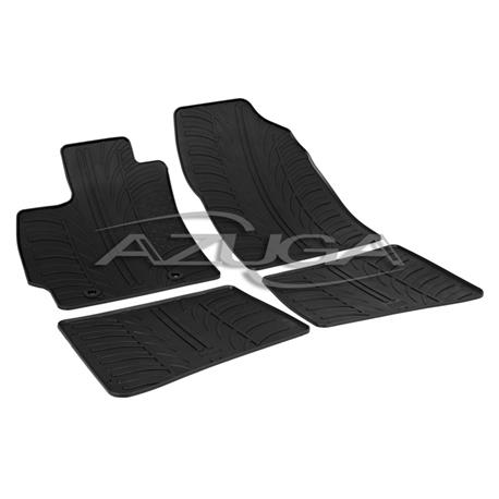 Gummi-Fußmatten für Toyota Prius ab 6/2009-4/2012