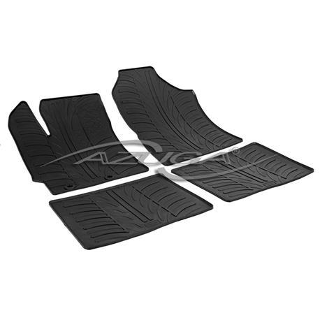 Gummi-Fußmatten für Toyota Yaris III ab 9/2011