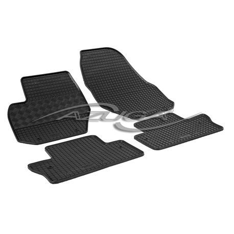 Gummi-Fußmatten für Volvo S60/V60 ab 2010-6/2018