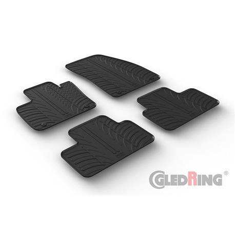 Gummi-Fußmatten für Volvo XC40 ab 2018