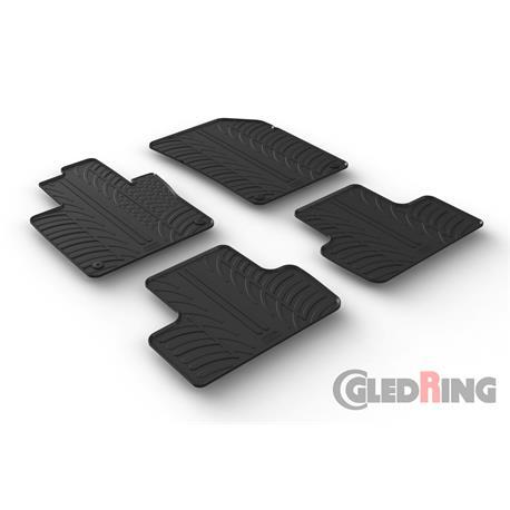 Gummi-Fußmatten für Volvo XC60 ab 7/2017