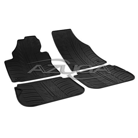 Gummi-Fußmatten für VW Caddy/Caddy Life ab 2004