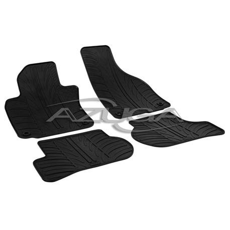 Gummi-Fußmatten für VW Golf 5/VW Golf 5 Variant/VW Jetta (Befestigung oval/Knebel)