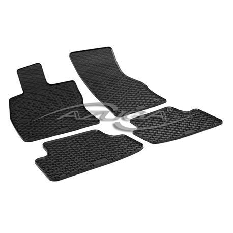 Gummi-Fußmatten für Audi A3 Sportback (8VA)/Seat Leon (5F) ab 2013/VW Golf 7