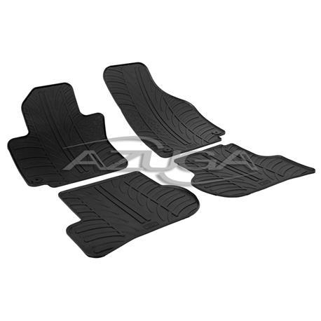 Gummi-Fußmatten für VW Golf Plus (inkl. runder Clipbefestigung)