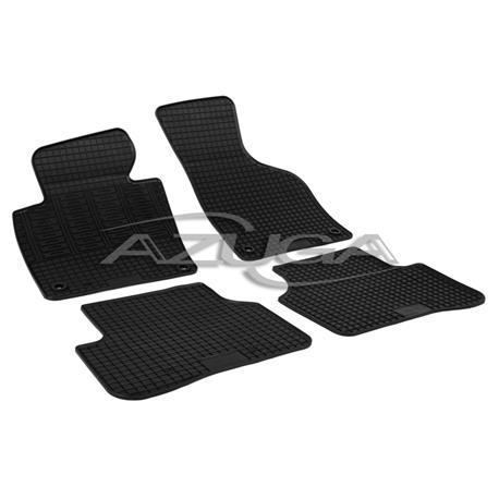 Gummi-Fußmatten für VW Passat/Passat Variant 3C ab 2005/ab 2010 (Befestigung oval/Knebel)
