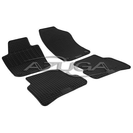 Gummi-Fußmatten für Skoda Fabia III ab 2014/VW Polo 6R ab 2009