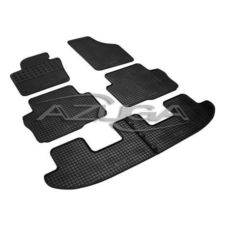 Gummi-Fußmatten für Seat Alhambra/VW Sharan ab 2010 (6-teilig)
