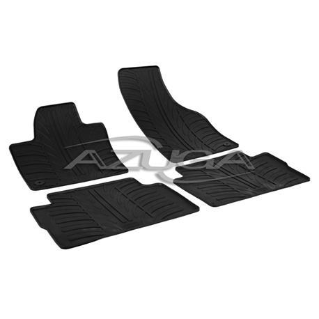Gummi-Fußmatten für VW Sharan ab 2010/Seat Alhmabra ab 2010