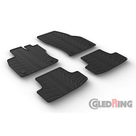 Gummi-Fußmatten für VW T-Roc ab 2017