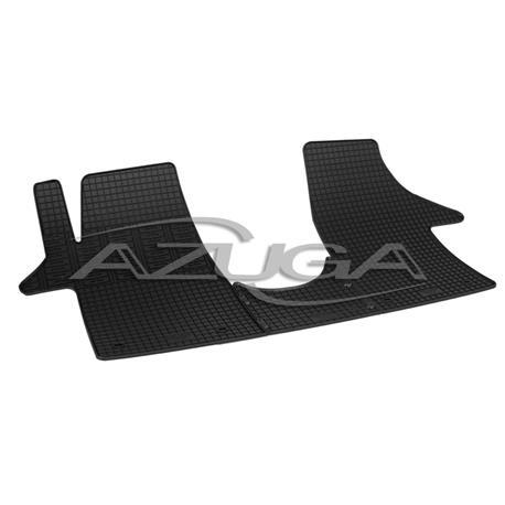 Gummi-Fußmatten für VW T5/T6 Caravelle/Multivan/Transporter vorn (3-teilig)