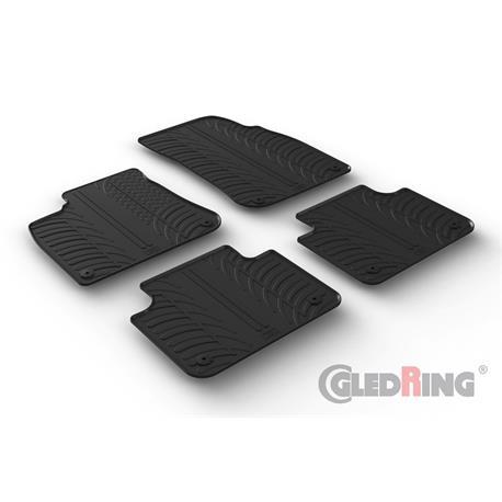 Gummi-Fußmatten für VW Touareg ab 7/2018