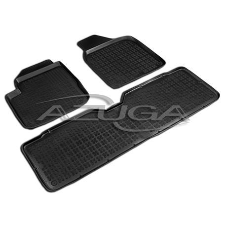 Hohe Gummi-Fußmatten für Ford Galaxy/Seat Alhambra/VW Sharan ab 1995