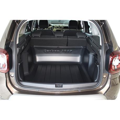 Kofferraumwanne für Dacia Duster II ab 2018 (2WD) Carbox hoher Rand 103947000