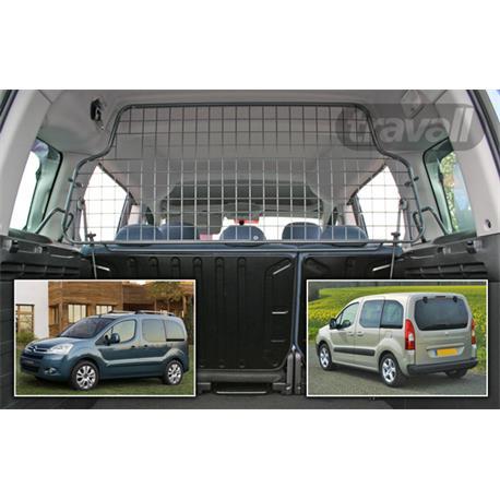 Hundegitter für Citroen Berlingo 5-Sitzer/Peugeot Partner 5-Sitzer ab 5/2008