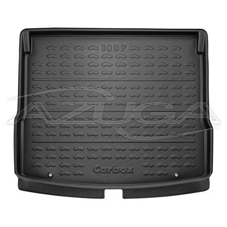 Kofferraumwanne für Skoda Karoq ab 2017 (variabler Boden oben) Carbox Form 201837000