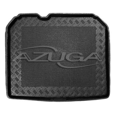Kofferraumwanne für Audi Q3 ab 10/2011-10/2018 (mit Pannenset) mit Anti-Rutsch-Matte