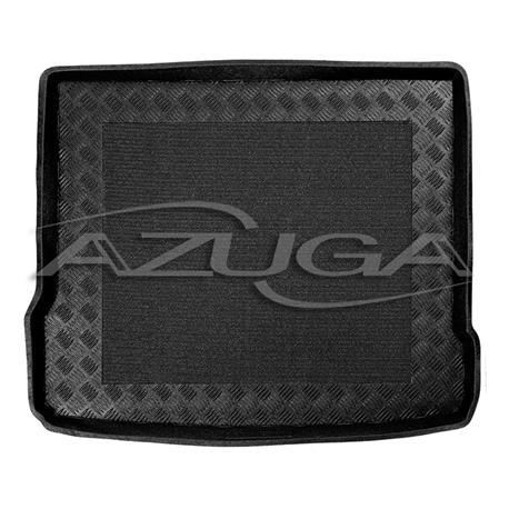 Kofferraumwanne für Audi Q3 ab 10/2011-10/2018 (mit Reserverad) mit Anti-Rutsch-Matte