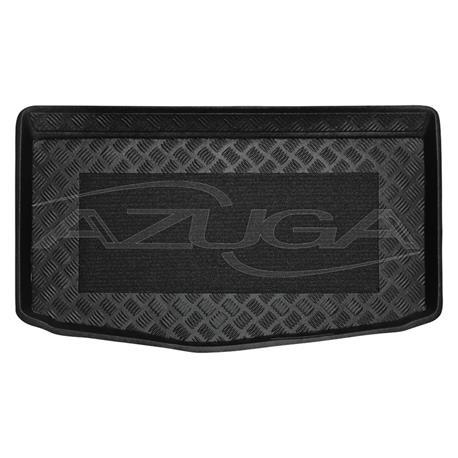 Kofferraumwanne für Kia Stonic ab 2017 (Boden in unterer Position) mit Anti-Rutsch-Matte