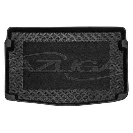 Kofferraumwanne für Seat Ibiza ab 6/2017 mit Anti-Rutsch-Matte (variabler Boden oben)
