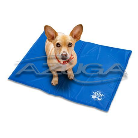 Kühlmatte Kühlkissen für Hunde 65 cm x 50 cm (blau)